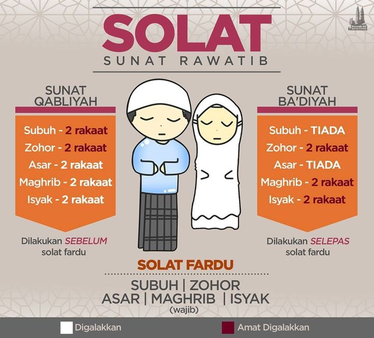 Shalat sunat rawatib