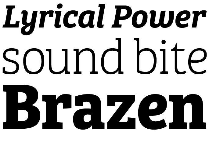 Bree Serif by TypeTogether #fonts #fontshop