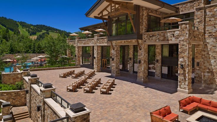 The St. Regis Deer Valley - Astor Terrace