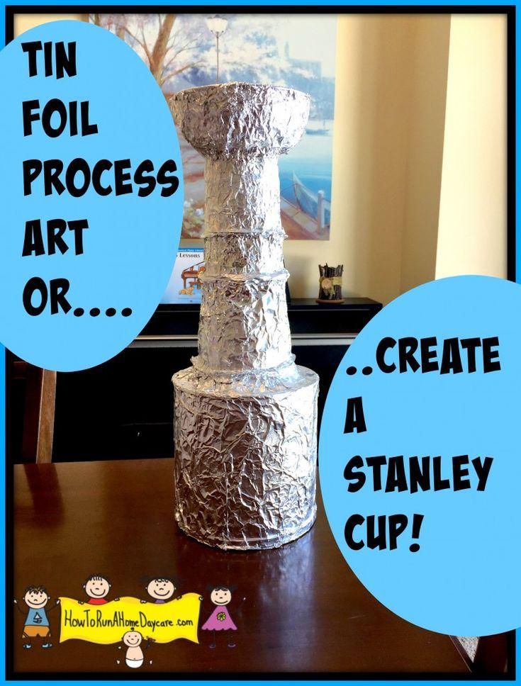 Zinnfolienverfahren Art.-Nr. Verwenden Sie recycelte Materialien, um Kunst zu machen! Tolle Aktivität für Pr …   – Father's Day/4th of July