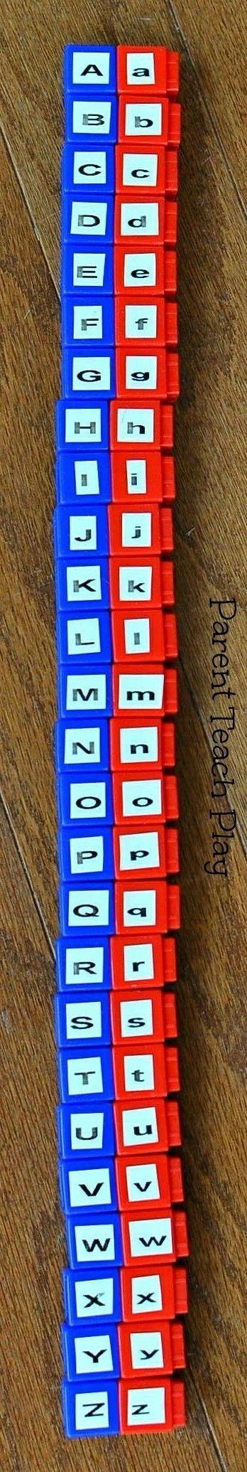 alphabet matching activities