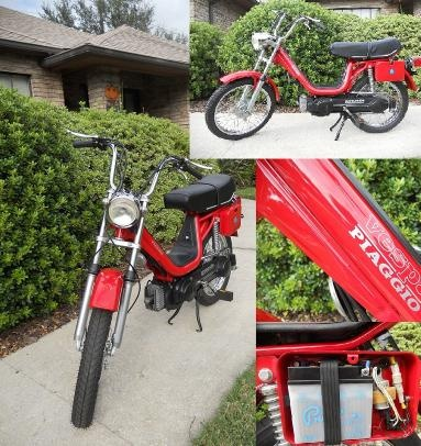 I had one of these... a Piaggio Vespa moped.