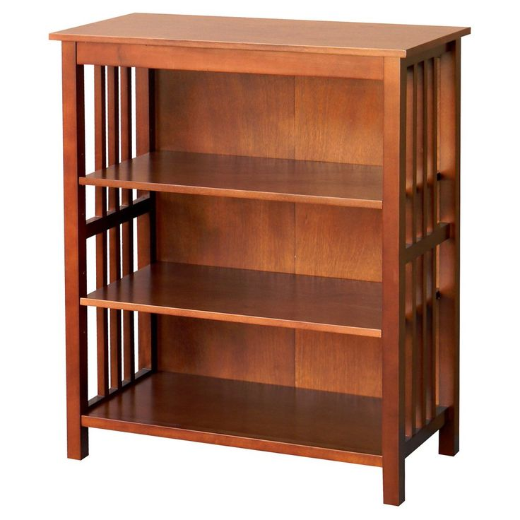 DonnieAnn Hollydale 36 in. Bookcase - Chestnut - Bookcases at Hayneedle