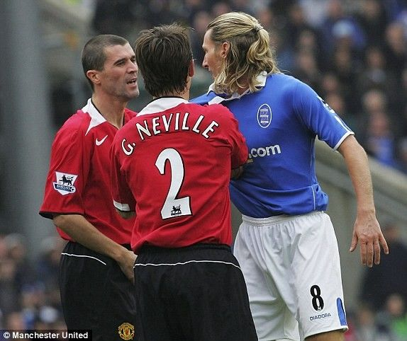 Roy Keane,he loves a ruck