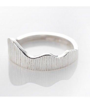 Seashore Ring. Sterling Silver.
