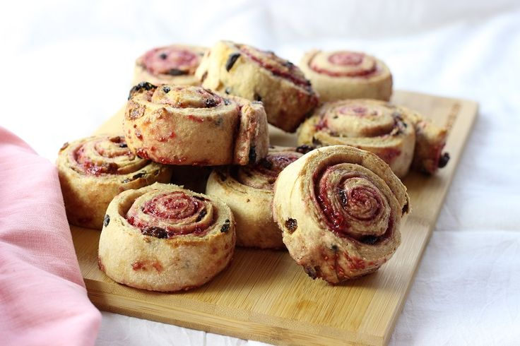 These fruit berry scrolls are something a little different, the combinations…