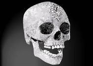 Ganéša sada; Damien Hirst Diamond lebka