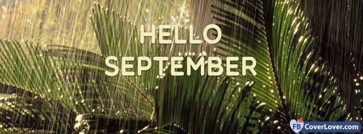 Hello September Forest Rain  - cover photos for Facebook - Facebook cover photos - Facebook cover photo - cool images for Facebook profile - Facebook Covers - FBcoverlover.com/maker
