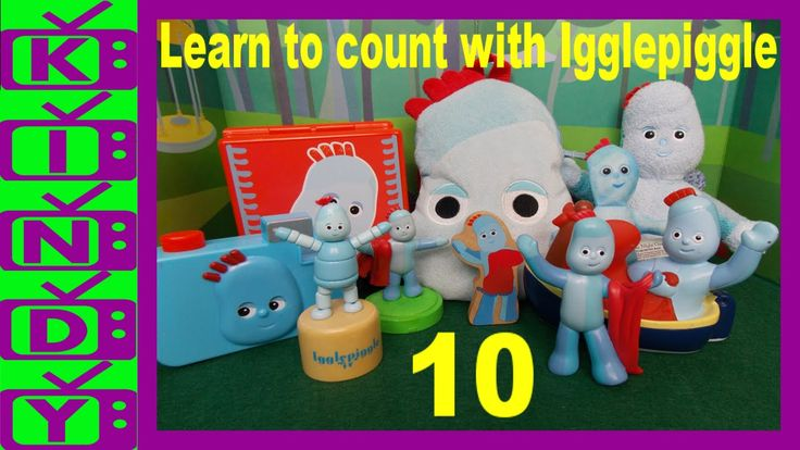 Learn to count from 1 to 10 with Igglepiggle. In The Night Garden Toys.