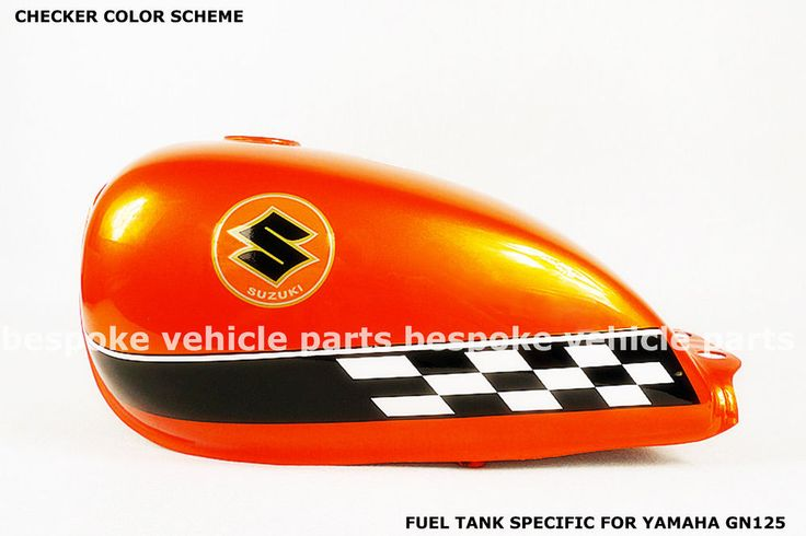 CAFE RACER GAS FUEL TANK For SUZUKI GN125 GN 125 w Grips Petcock GN-5 #AftermarketParts