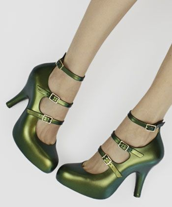 My Style:  Green Vivienne Westwood #shoes.