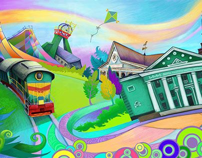 """Check out new work on my @Behance portfolio: """"Art for the city Dobropole""""…"""