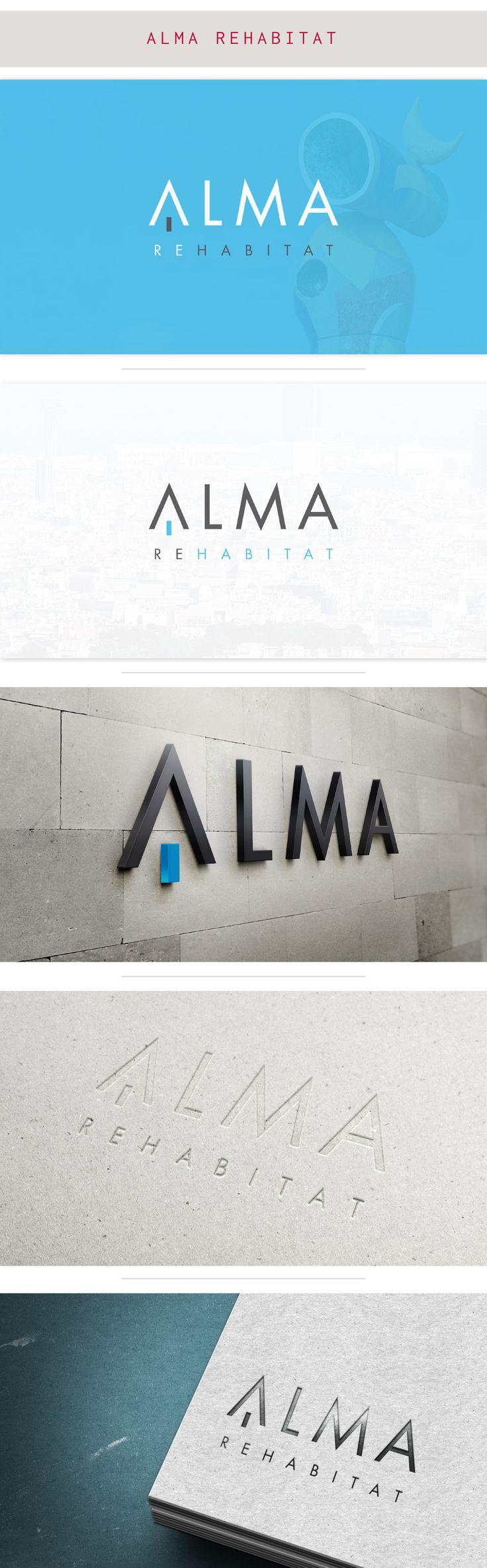 Naming e identidad corporativa para la inmobiliaria Alma Rehabitat