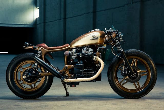 ϟ Hell Kustom ϟ: Honda CX500 By Kingston