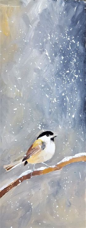 Buy Lonely Marsh tit, Acrylic painting by Simon Tünde on Artfinder. Discover thousands of other original paintings, prints, sculptures and photography from independent artists.