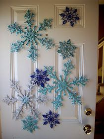 Diy yourself with snowflakes from Dollar Tree