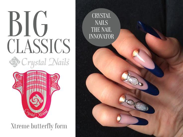 #nails #nailsculpting #nailform #nailshape #crystalnails