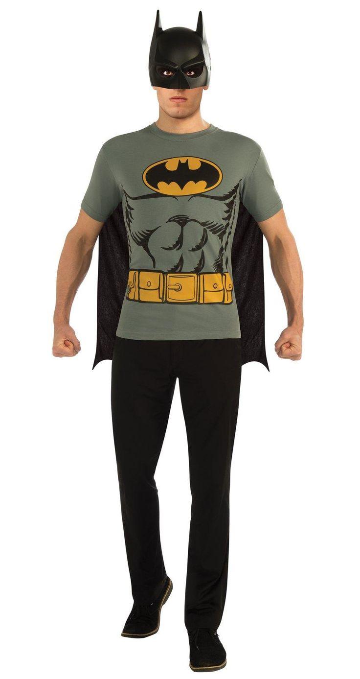 Batman T-Shirt Adult Costume Kit from Buycostumes.com