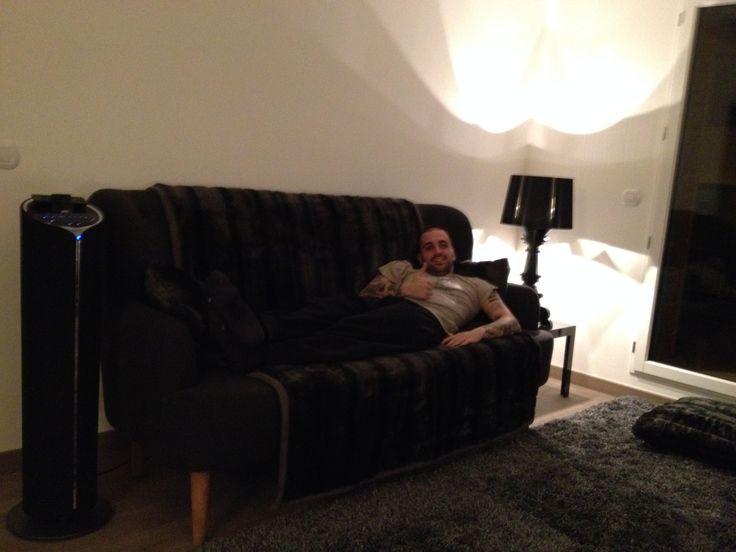relax nel mio soggiorno!!con le mie adorate lampade kartell