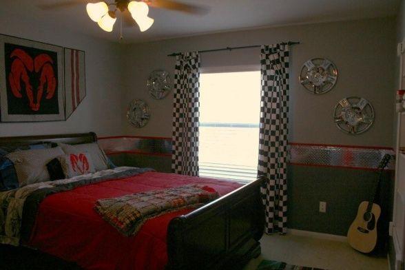 nascar room | Nascar Race Room - Boys' Room Designs - Decorating Ideas - HGTV Rate ...