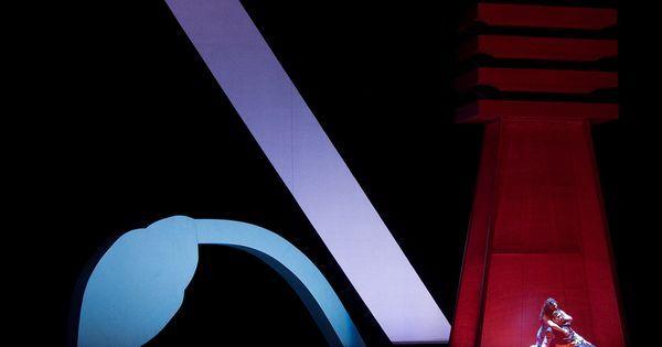 Aida. Opera Omaha. S - Aida. Opera Omaha. Scenic design by Catherine Ferguson. 2008 --- #Theaterkompass #Theater #Theatre #Schauspiel #Tanztheater #Ballett #Oper #Musiktheater #Bühnenbau #Bühnenbild #Scénographie #Bühne #Stage #Set