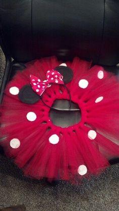 disfraz de minie rosa