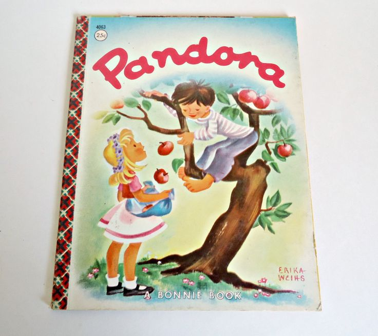 Vintage Pandora Children's Book A Bonnie Book 1961 by TreasureCoveAlly on Etsy
