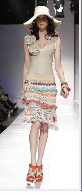 Crochet in fashion……..