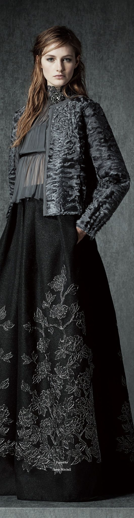 Alberta Ferretti Pre-Fall 2015 Collection...skirt