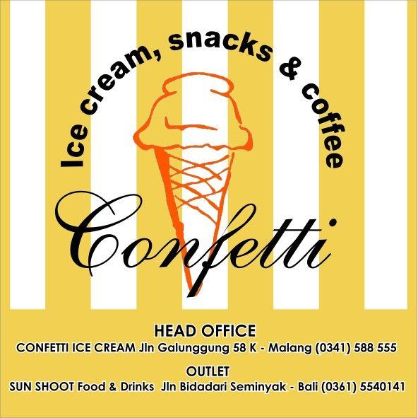 Confetti Ice cream