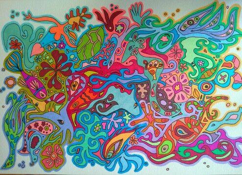 Happydream by marjacq.art. hartopdetong.wordpress.com