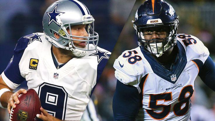 Predicting the MVP in each NFL division - Dallas Cowboys' Tony Romo, Denver Broncos' Von Miller