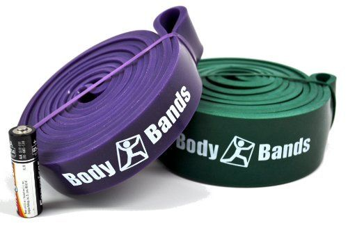 "Pull Up Band Set 2 | 41"" Loop CrossFit Resistance Bands 