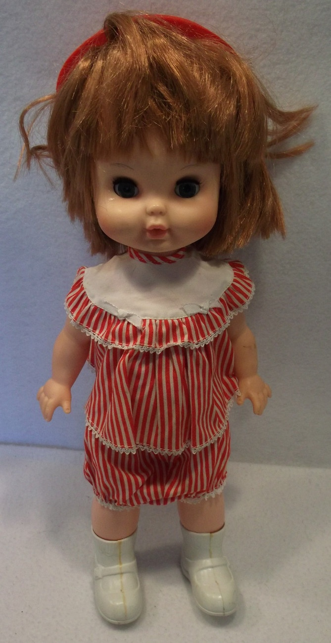 Vintage 1965 Remco Baby Walk Alone 15 Quot Doll Non Working