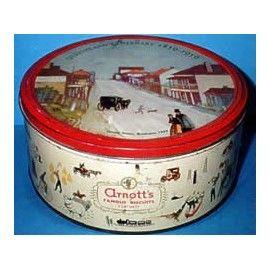 Arnott's 'Queensland Centenary, 1959', 3 lb. Biscuit Tin, c.1959