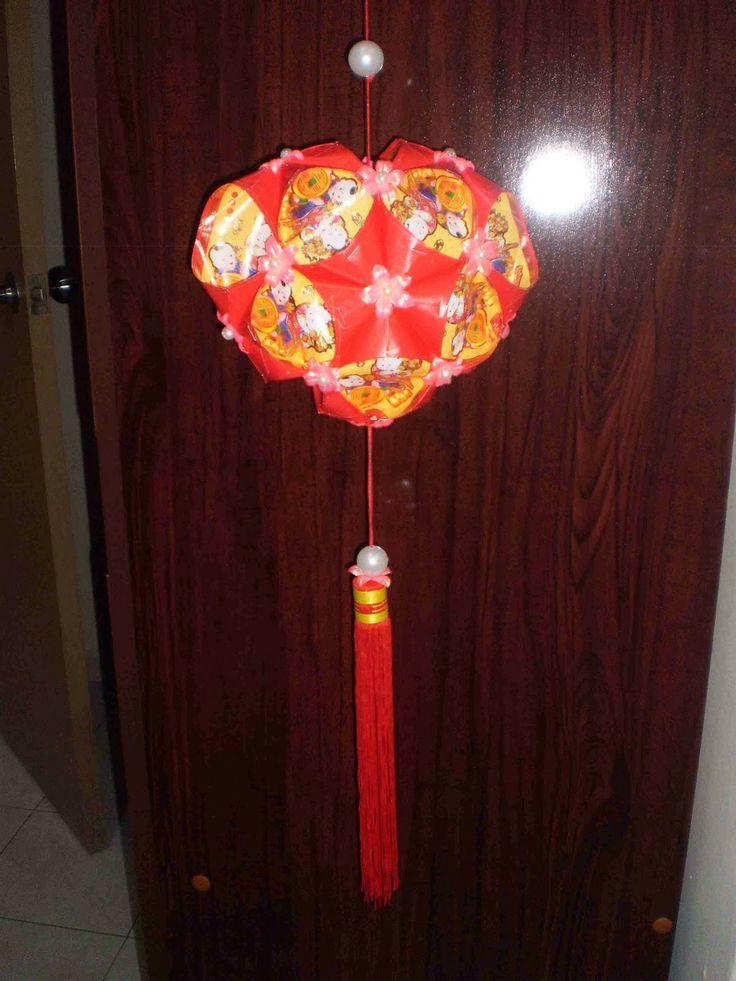 DIY Love Sharp Chinese New Year Lantern