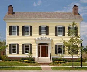 Best 19 Colonial Style Homes Images On Pinterest Architecture