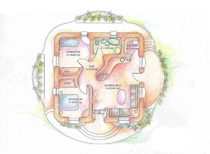 Best 25+ Cob house plans ideas on Pinterest | Round house plans ...