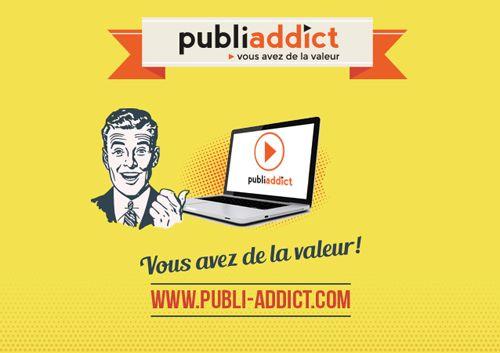 Savez-vous que 7 internautes français sur 10 se disent prêts à accepter l'exploitation de leurs données personnelles contre une rémunération ? PubliAddict, une nouvelle plateforme de mise en relation entre les marques et les consommateurs propose aux internautes d'expérimenter la publicité différemment. Découvrez notre test : http://www.webmarketing-com.com/2014/11/21/33778-publiaddict-apprehendiez-publicite-differemment
