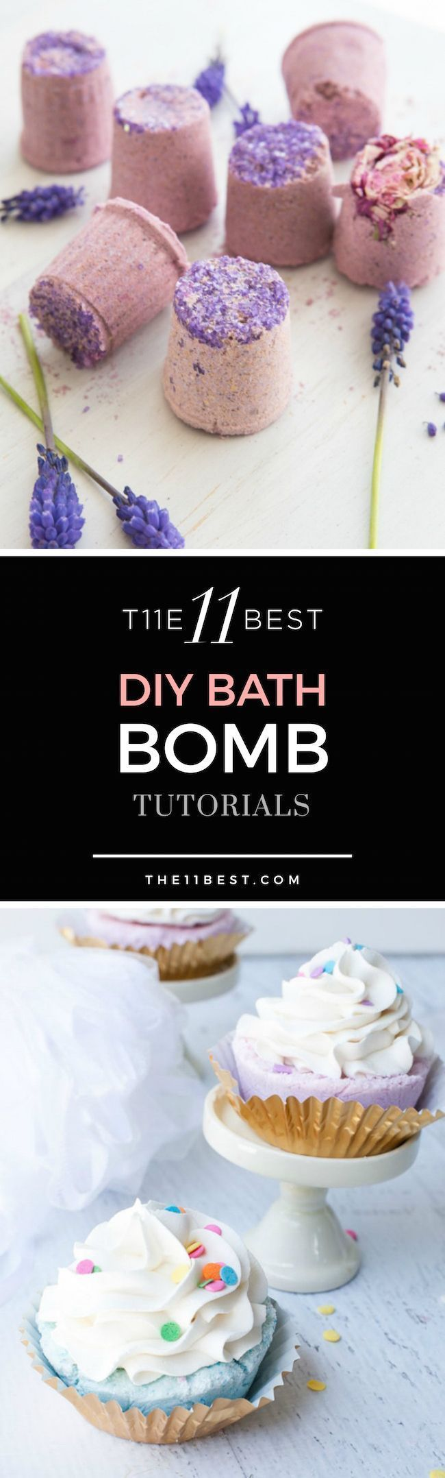The 11 Best DIY Bath Bomb ideas and tutorials. Instructions for how to make bath bombs.