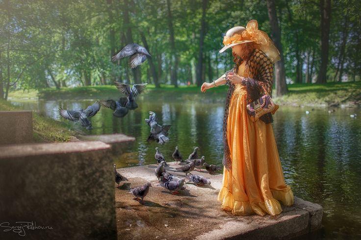 Фотограф Сергей Рехов (Sergej Rekhov) - Соломенные шляпки #1848565. 35PHOTO
