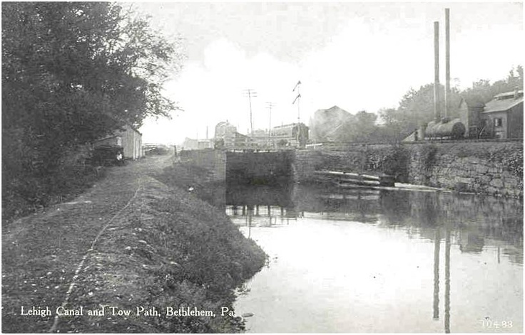 Bethlehem canal bethlehem pa pinterest for 1741 on the terrace bethlehem pa