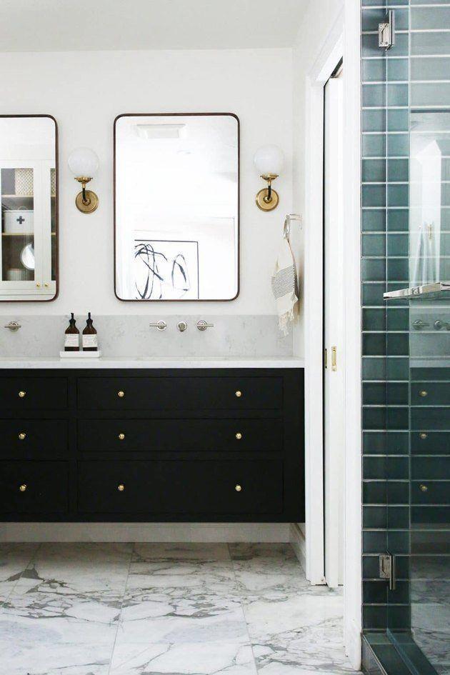 Low Cost Bathroom Updates That Won T Drain Your Savings Bathroom Tile Renovation Bathroom Update Small Bathroom