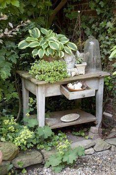 Dekorationsideen für den Garten