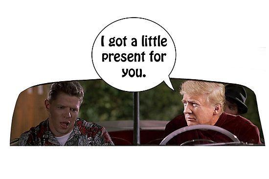 Young Donald Trump meets old Donald Trump