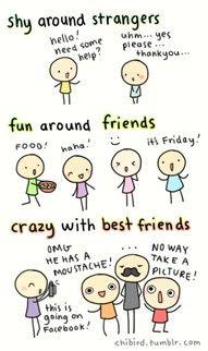 I feel like this is all of us. @Kambrie King-Sanderfer @Kylie Knapp @Christine Carli @James Barnes @MajorityOfSophomoreClass: Best Friends, Stuff, Levels, My Life, Bff, Friendship So True, Friendship Quotes, Friendship True