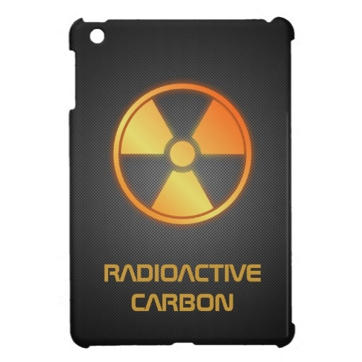 radioactive carbon fiber iPad mini case by BannedWare