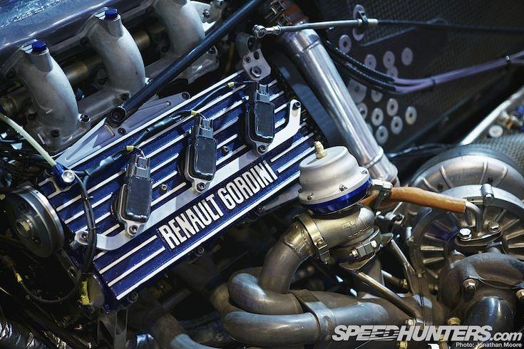 The 2013 Autosport International Racing Car Show - Renault Gordini turbo V-6 Formula 1 engine