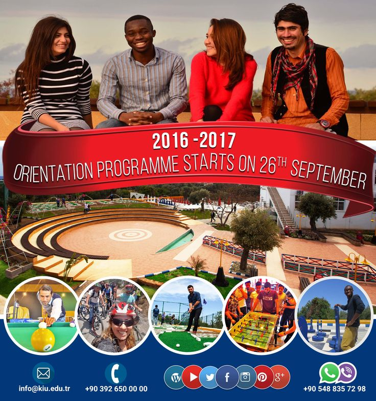 Please find more Information about the Orientation Programme & Pick-Up Form from http://www.kiu.edu.tr/en/prospective-students/