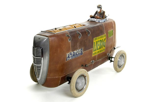 Stephane Halleux - Steampunk Toy Cars